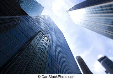 Singapore Skyline, financial centre