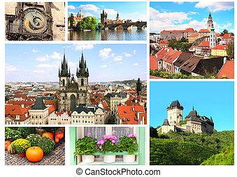 Famous places of Czech Republic - Collection - famous places...