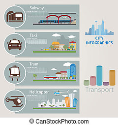 City Transport Vector for you design