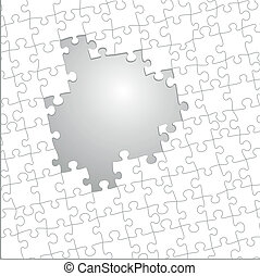jigsaw puzzle template