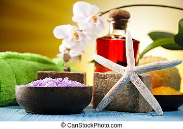 Orchids,organic products, Spa
