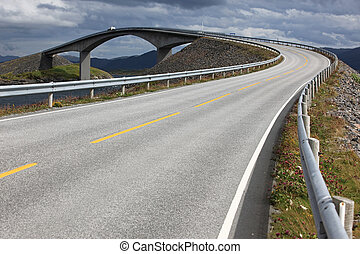 Atlantic Road in Norway