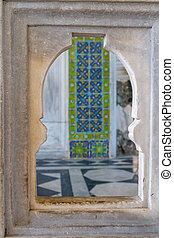 Topkapi palace, Istanbul - Decorations detail from the...