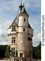 Castle of Chenonceau. Loire Valley. - Castle of Chenonceau....