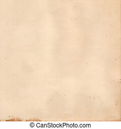Old Photographic Paper - Image of a blank sheet of old...