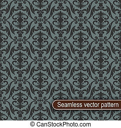 Seamless vector pattern - The vector image Seamless vector...