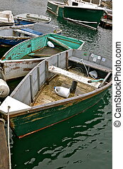 Lobster Fishing Oar Boats - The lobster fishing oar boats...
