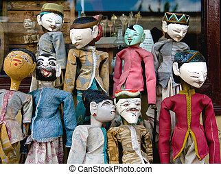 puppets - bali puppets