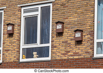 Wild Animals in the City - Bat Boxes on a Building to...