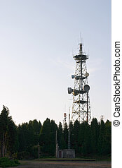 Transmissions tower