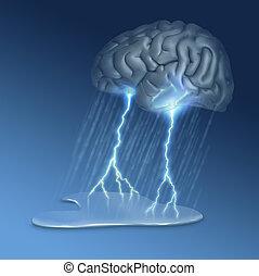 cerebro, Tormenta