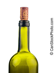 cork of a wine bottle - the cork of a wine bottle in...