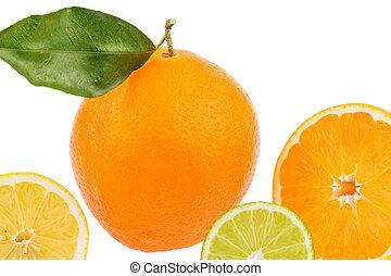 橙, 反映
