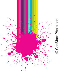 Nail Salon Paint splash - Cool nail salon paint splash...
