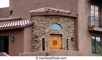 Arizona House Front Entrance