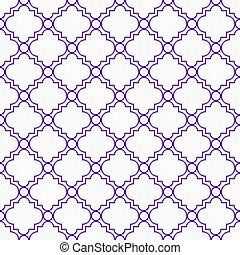 紫色, 白色, 裝飾, 設計, Textured, 織品, 背景