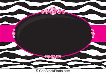 Zebra Jewelry Poster Ad - Cute cool zebra jewelry poster...