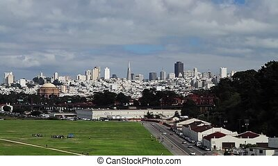 San Francisco Skyline, Pan Cities
