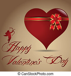 happy valentine's day - Valentine's Day greeting card for...