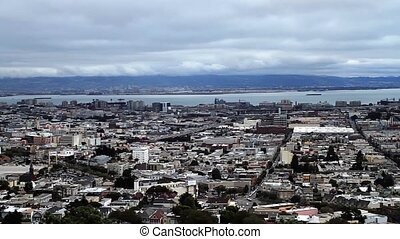 San Francisco Skyline, Pan Cities - San Francisco Skyline,...