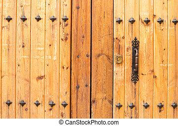 Old door planks