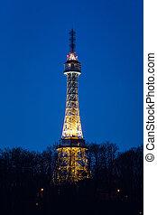 Czech Republic, Prague, Petrin Eifel Tower - Czech Republic...