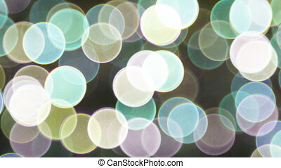 Background with sparkling spot lights video