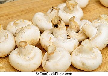 Fresh mushrooms - Fresh, tasty, beautiful mushrooms. Organic...