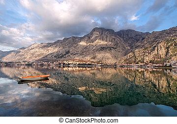 Bay of Kotor, Montenegro Boka kotorska - Bay of Kotor old...