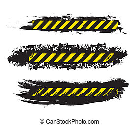 caution design over white background vector illustration