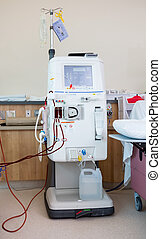 Advanced Dialysis Machine - Advanced dialysis machine in...