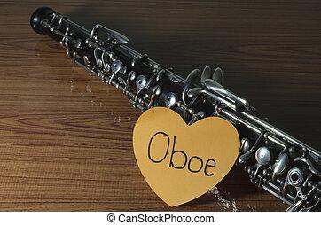 木頭, 背景, 雙簧管