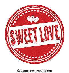 Sweet love stamp