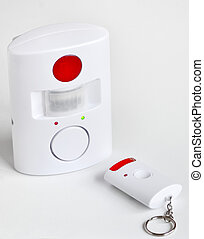 Home security system and remote