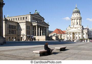 Gendarmenmarkt Berlin - Square gendarmenmarkt in berlin