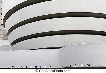 The Solomon R Guggenheim Museum, New York City - The Solomon...