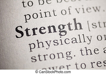 strength - Fake Dictionary, Dictionary definition of the...
