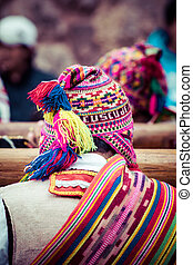 Indigenous Outfit in Peru