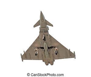 fighter jet