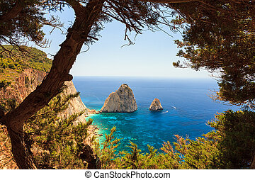 Mizithres view - Beautiful view through the trees at Cape...