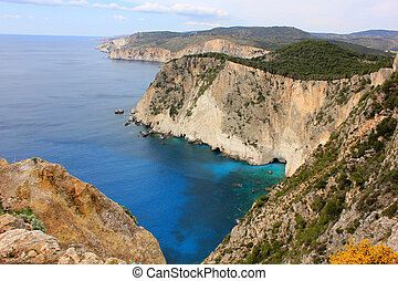 Keri Cape, Zante island, South - South Zakynthos, Ionian sea