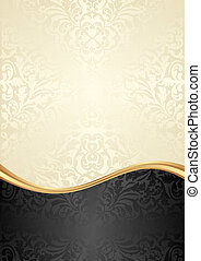 golden background - gold and black background with abstract...