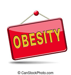 obesity prevention stop over weight start campaign with diet...