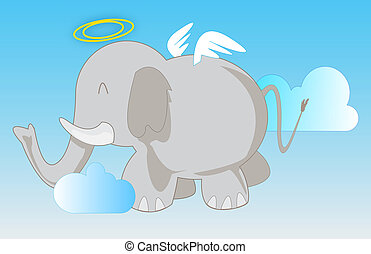 Angel Elephant