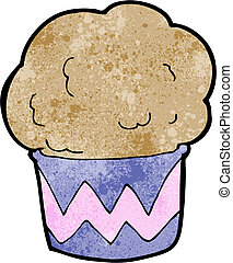 cartoon cupcake