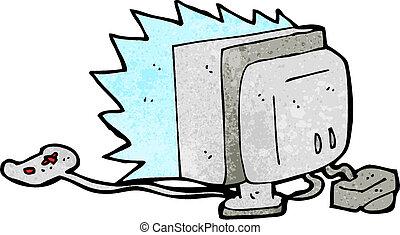 cartoon computer game