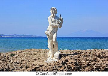 Poseidon, estátua