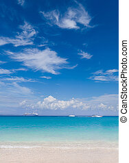 The village of Parga Greece Valtos beach - The village of...