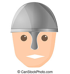 helmet, vector illustration