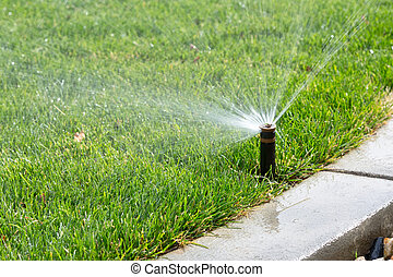 sprinkler - automatic sprinkler
